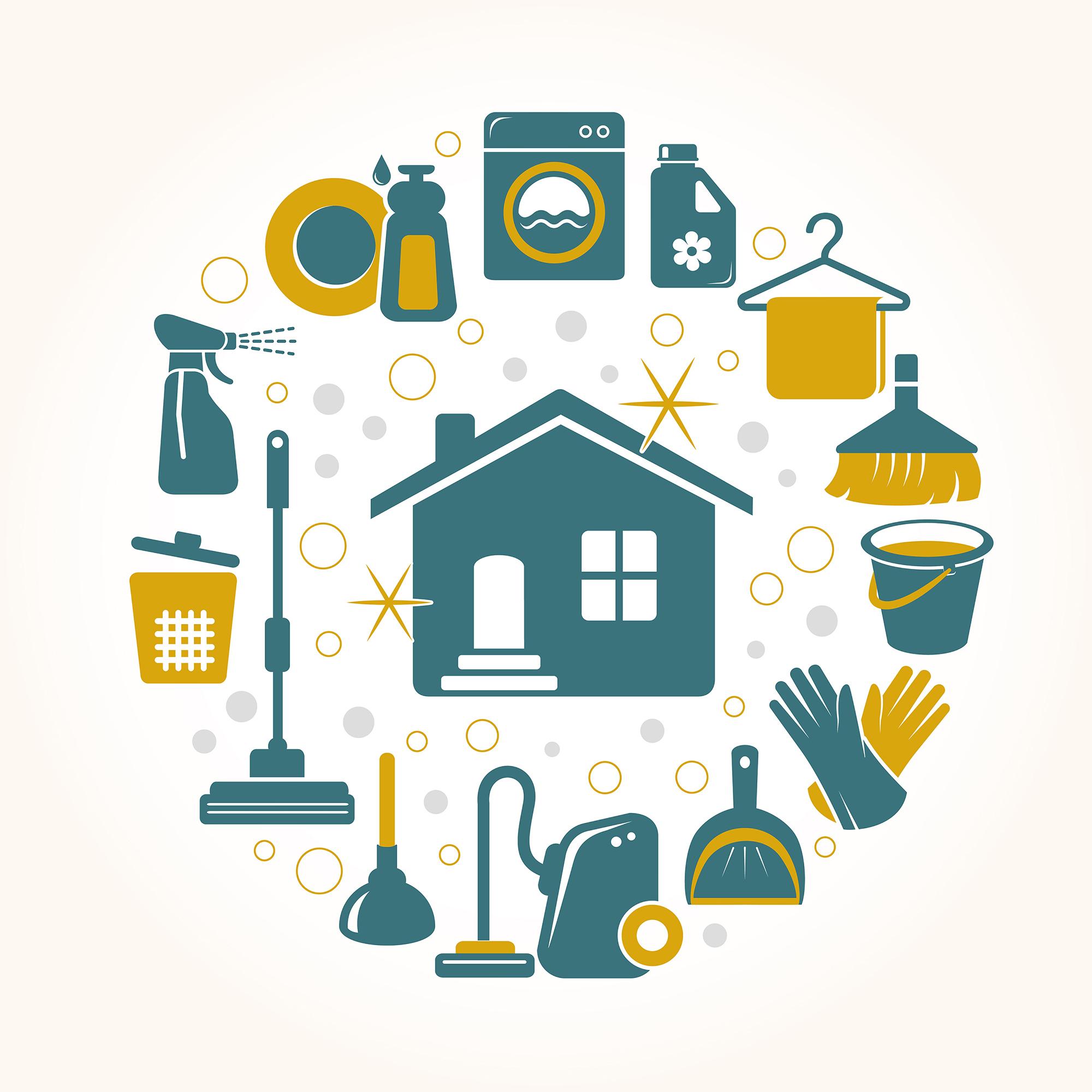 Ahorrar en la limpieza del hogar blog provident - Imagenes de limpieza de casas ...