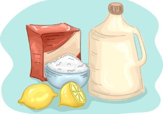 Ingredientes para limpiador casero