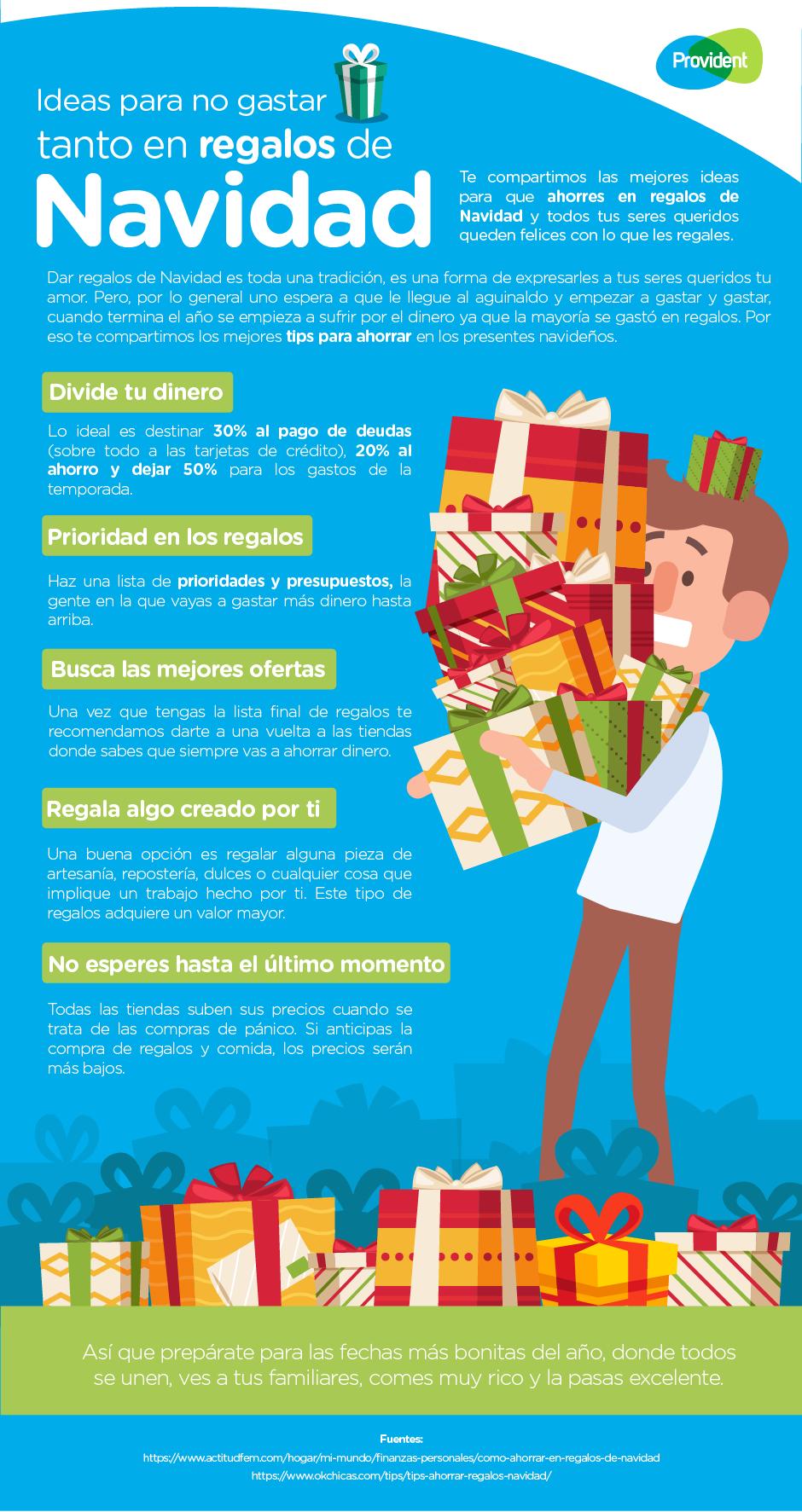 51586e79e68f1 ¡Tenemos las mejores ideas para que no gastes tanto en tus regalos  navideños!